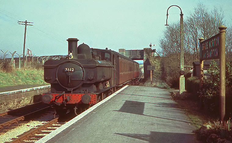 7412 at Brize Norton & Bampton 4 March 1961
