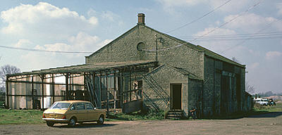 Eynsham goods shed