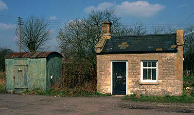 Eynsham weighbridge hut
