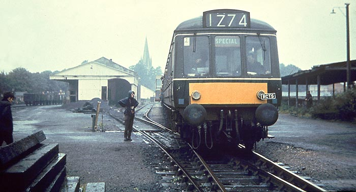 RCTS 'Bicester & Thames Valley Railtour' 14 September 1968 in Witney Goods Yard