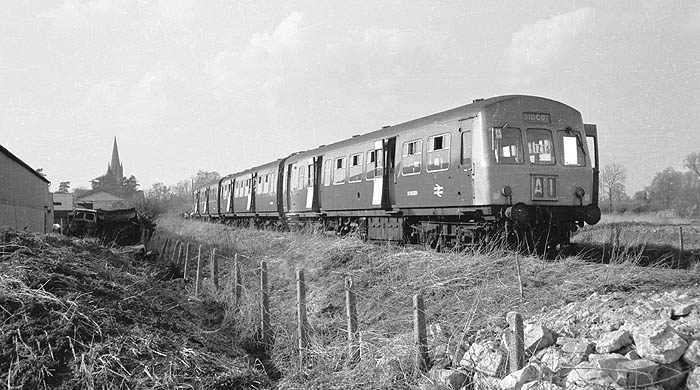 RCTS 'Thames-Cherwell' railtour at Witney 11 April 1970