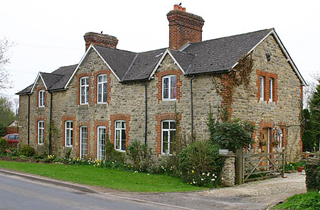 Fairford railwaymen's cottages