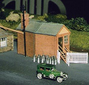 Fairford Station model in New Zealand
