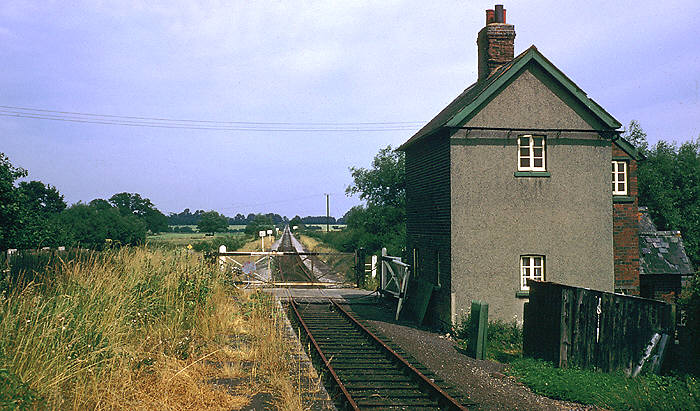 South Leigh Station on 22 September 1972