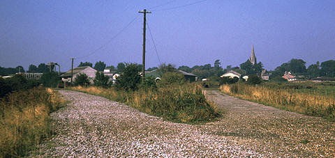 The site of Witney Junction