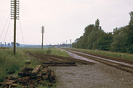 Yarnton Junction July 1971