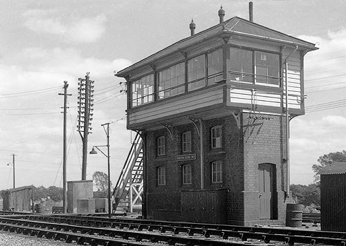 Yarnton Junction Signal Box