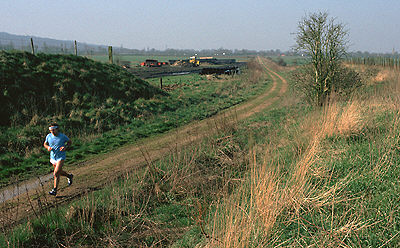 Fairford Branch curving away from Yarnton Junction
